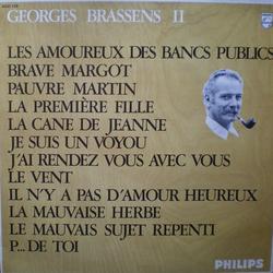 Georges brassens sheet music and tabs - Brassens les amoureux des bancs publics ...