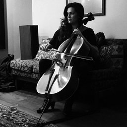 Katie Chambers, cellist