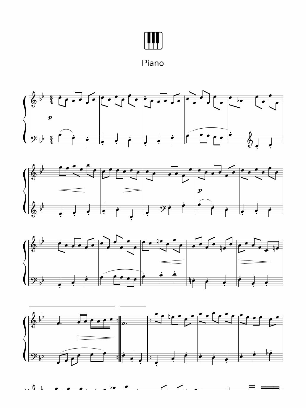 como tocar piano facil para principiantes