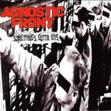 Print and download Something's Gotta Give sheet music in pdf. Learn how to play Agnostic Front songs for electric guitar, bass and drums online